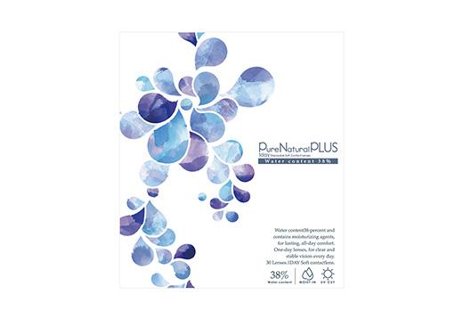 ピュアナチュラルワンデープラス UV&モイスト 38% [30枚入り]